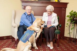 COPE Dogs help seniors