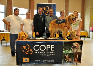 COPE Donation from Green Shield