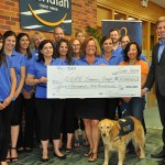 COPE Donation from Meridian Credit Union