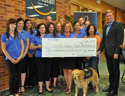 Meridian Credit Union Believes in Dragons & Dogs – June 2014