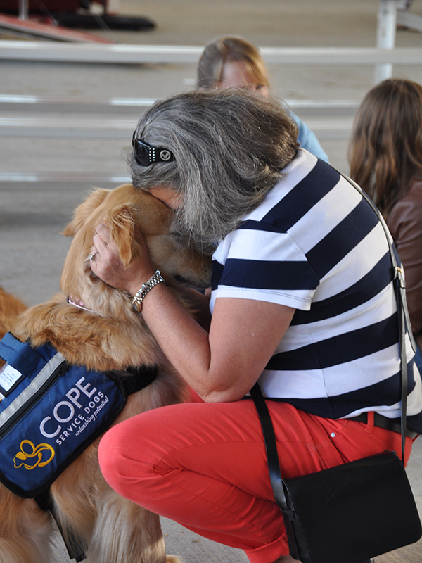 COPE Service Dogs at Barkfest Photo 10
