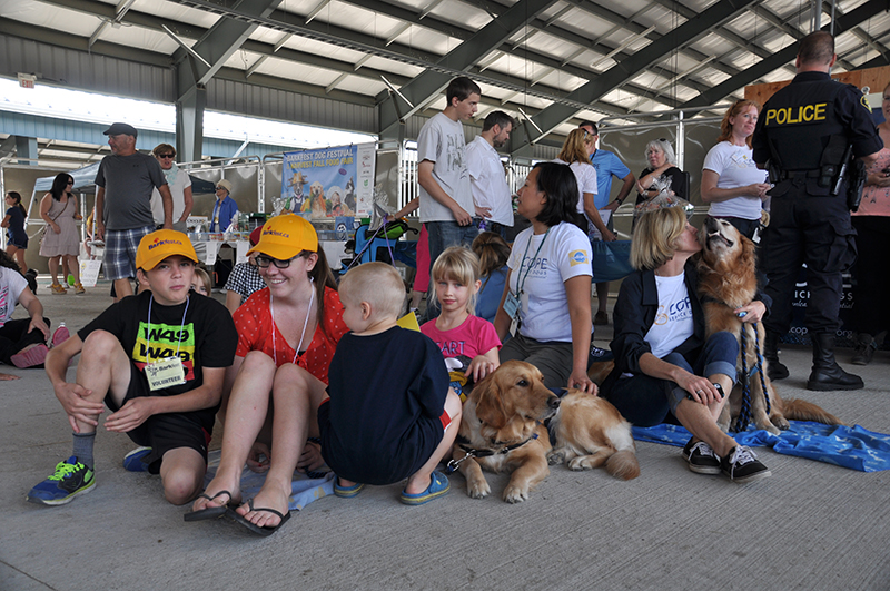 COPE Service Dogs at Barkfest Photo 2