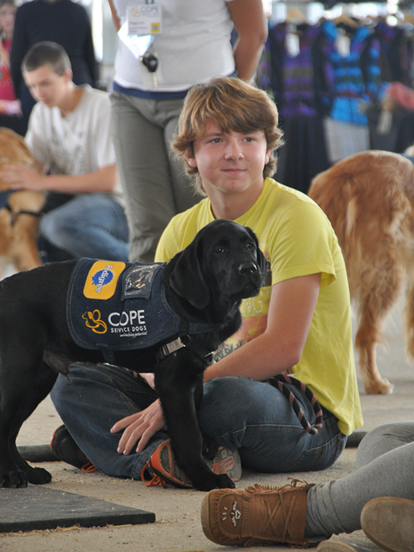 COPE Service Dogs at Barkfest Photo 4