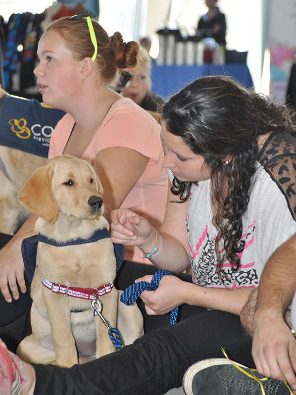 COPE Service Dogs at Barkfest Photo 6