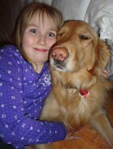 Emily and COPE Service Dog Rocky