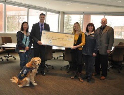CIBC Wood Gundy Donation – Mar. 2014